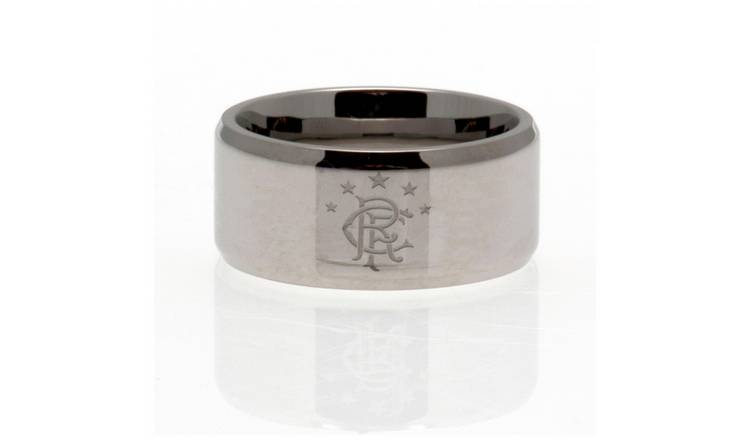 Stainless Steel Rangers Ring - Size U