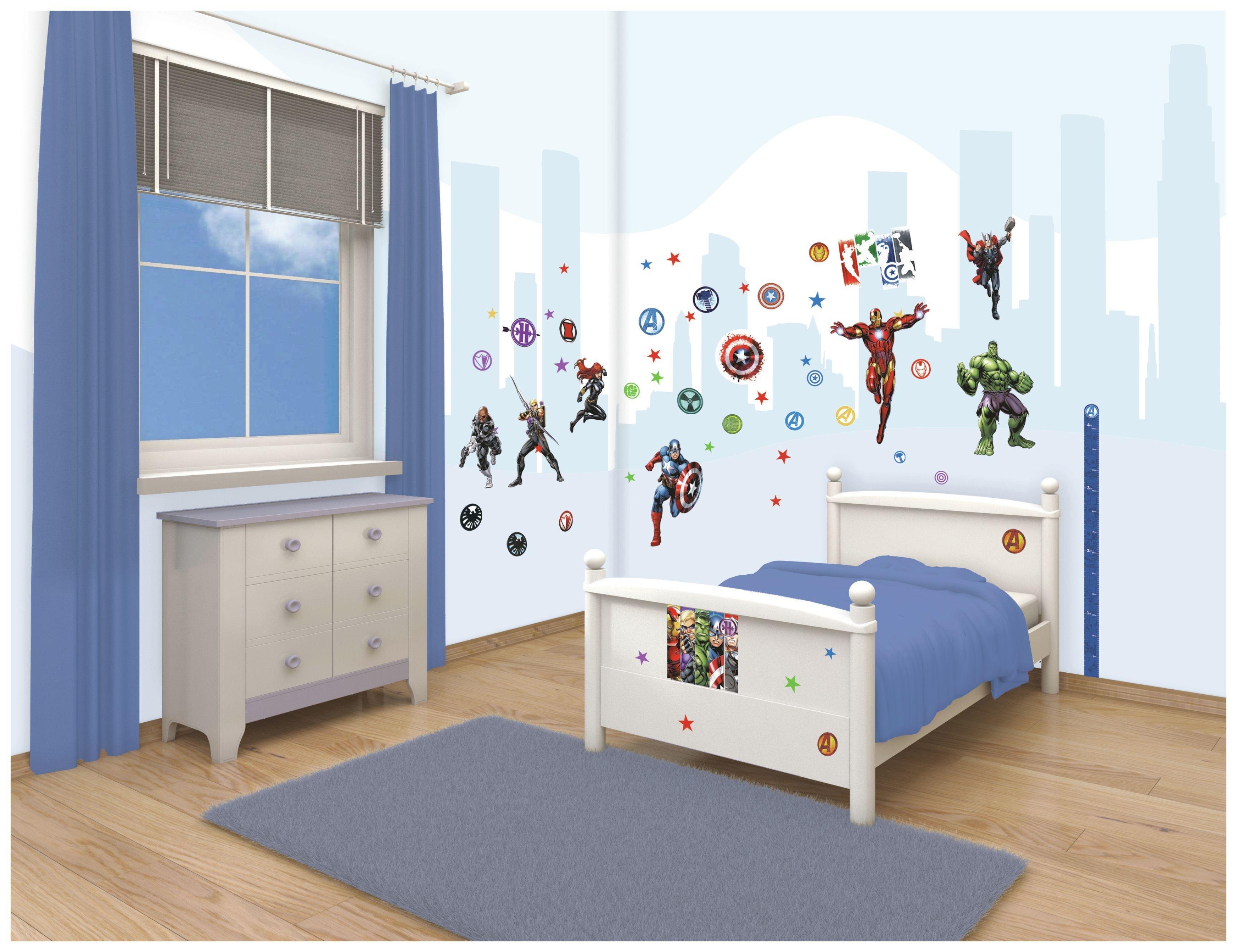 Walltastic - Avengers Assemble Room Decor Kit