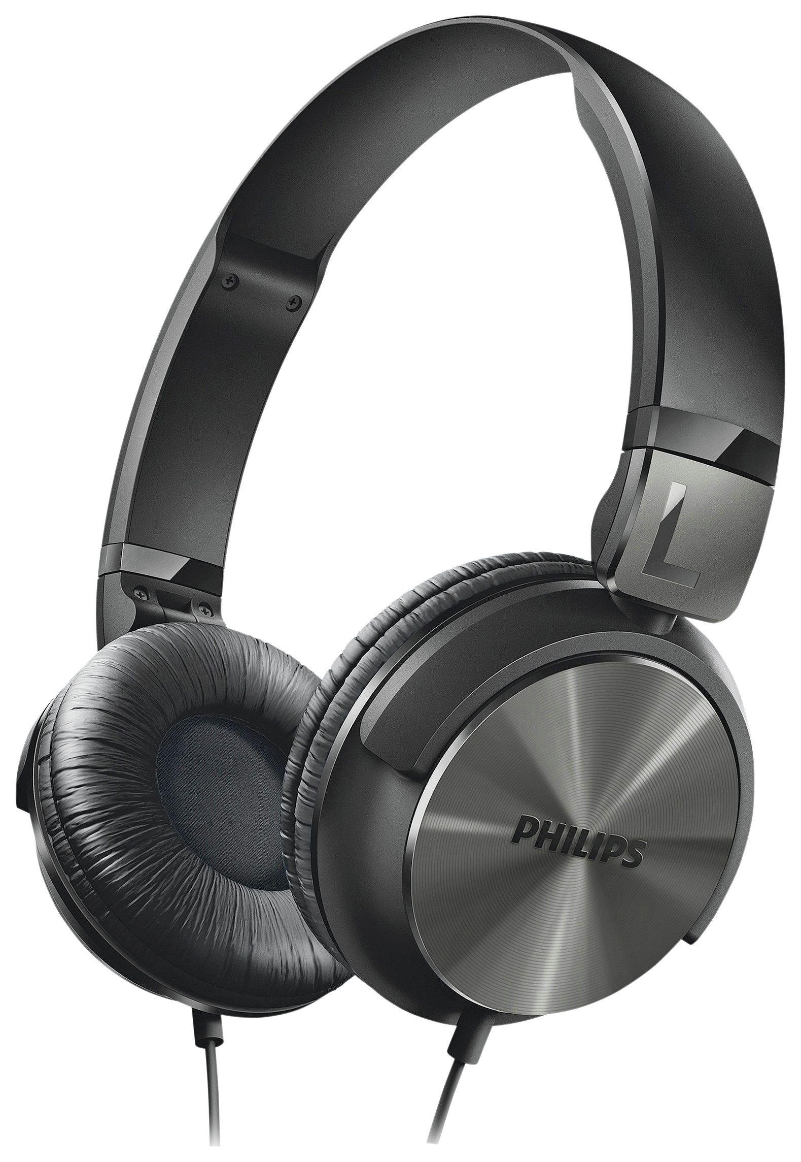 Philips Philips - SHL3160 DJ Style On-Ear Headphones - Black