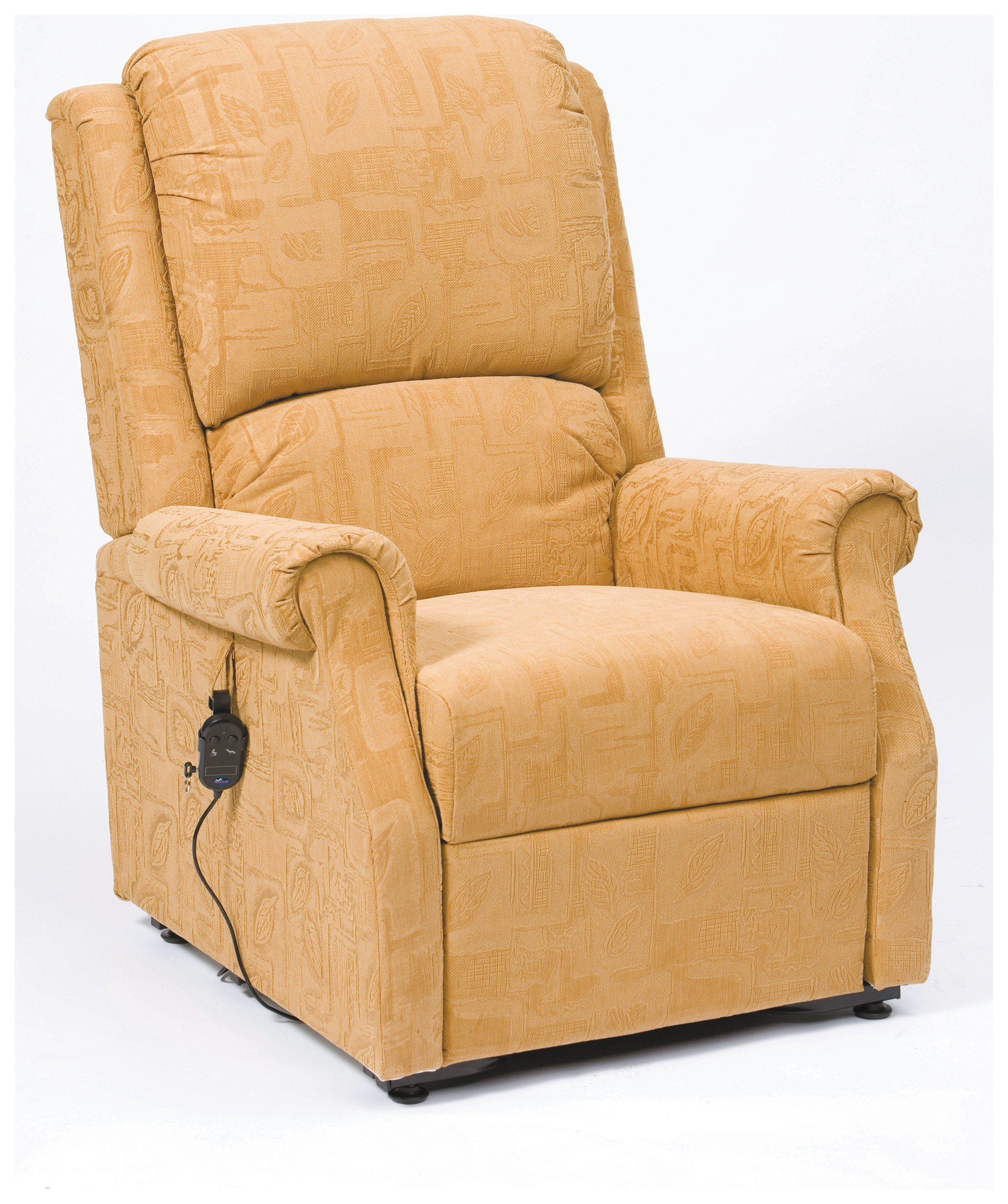 Image of Chicago Riser Recliner Chair with Single Motor - Gold.