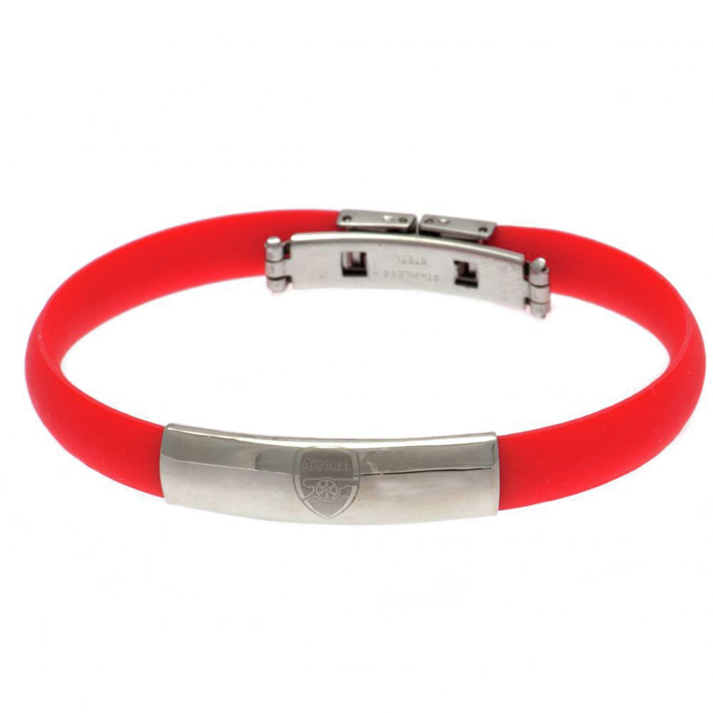 Image of Stainless Steel and Rubber Arsenal Bracelet