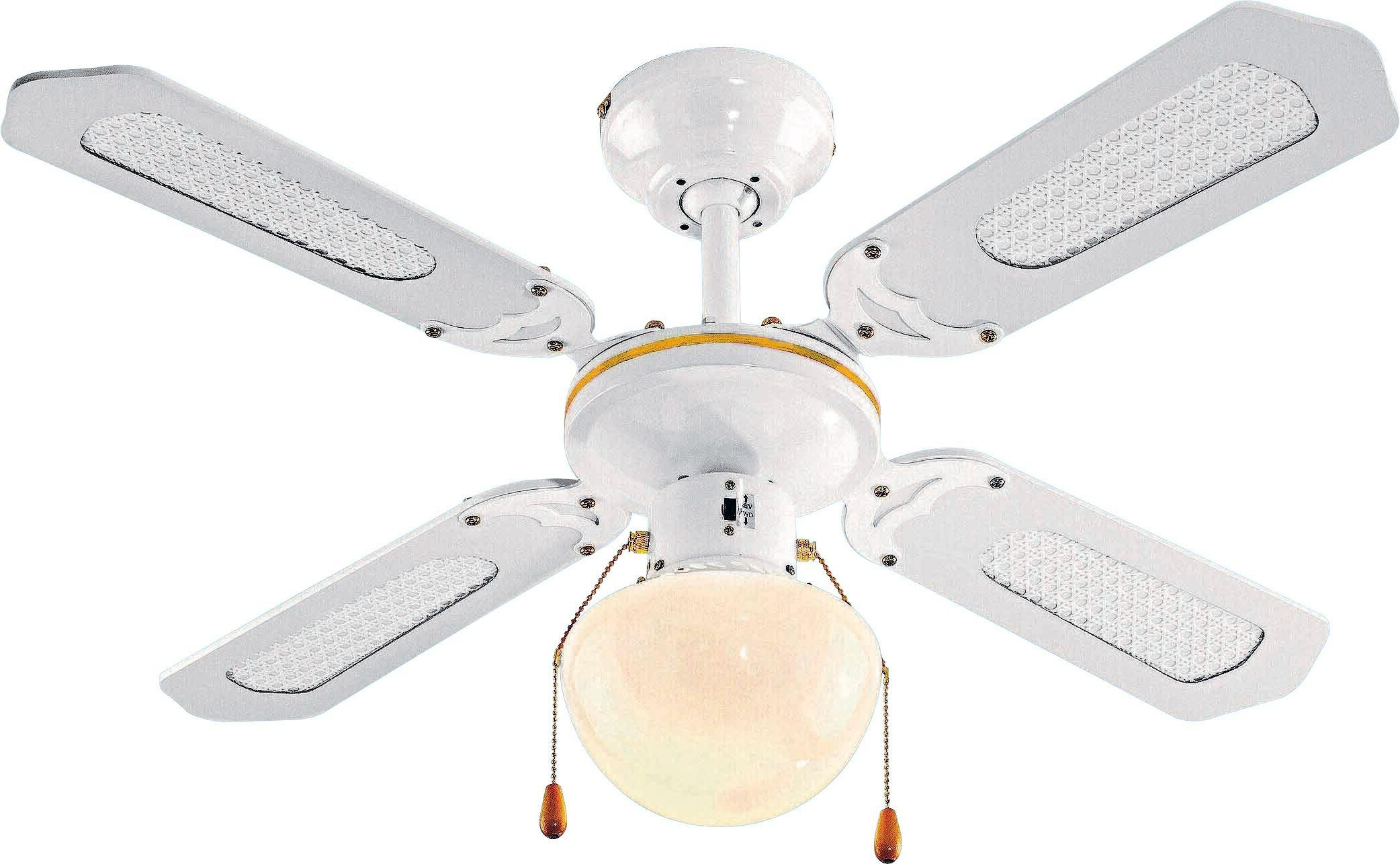 Home ceiling fan white