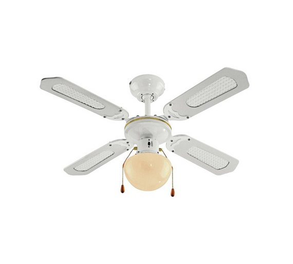 Buy Argos Home Ceiling Fan White Ceiling And Wall