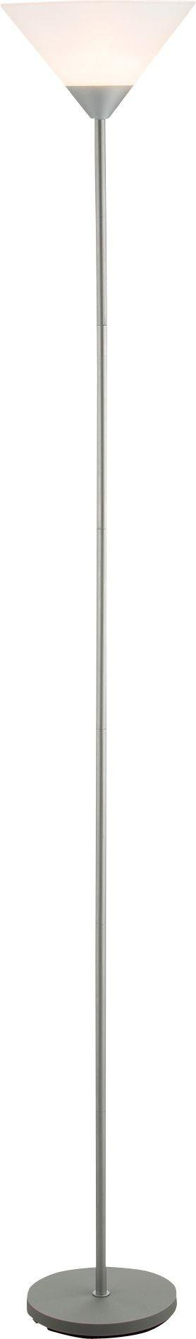 Simple Value Uplighter Floor Lamp - Silver