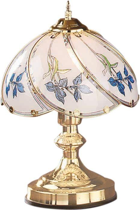 HOME Iris Touch Table Lamp   Brass