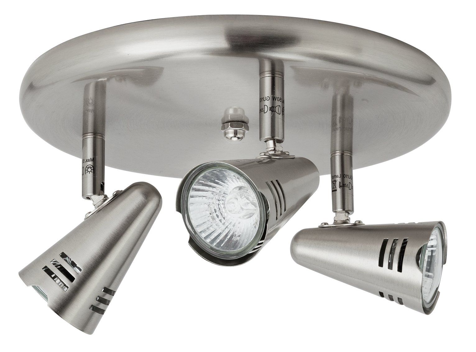 Metza 3 Spotlight Ceiling Plate
