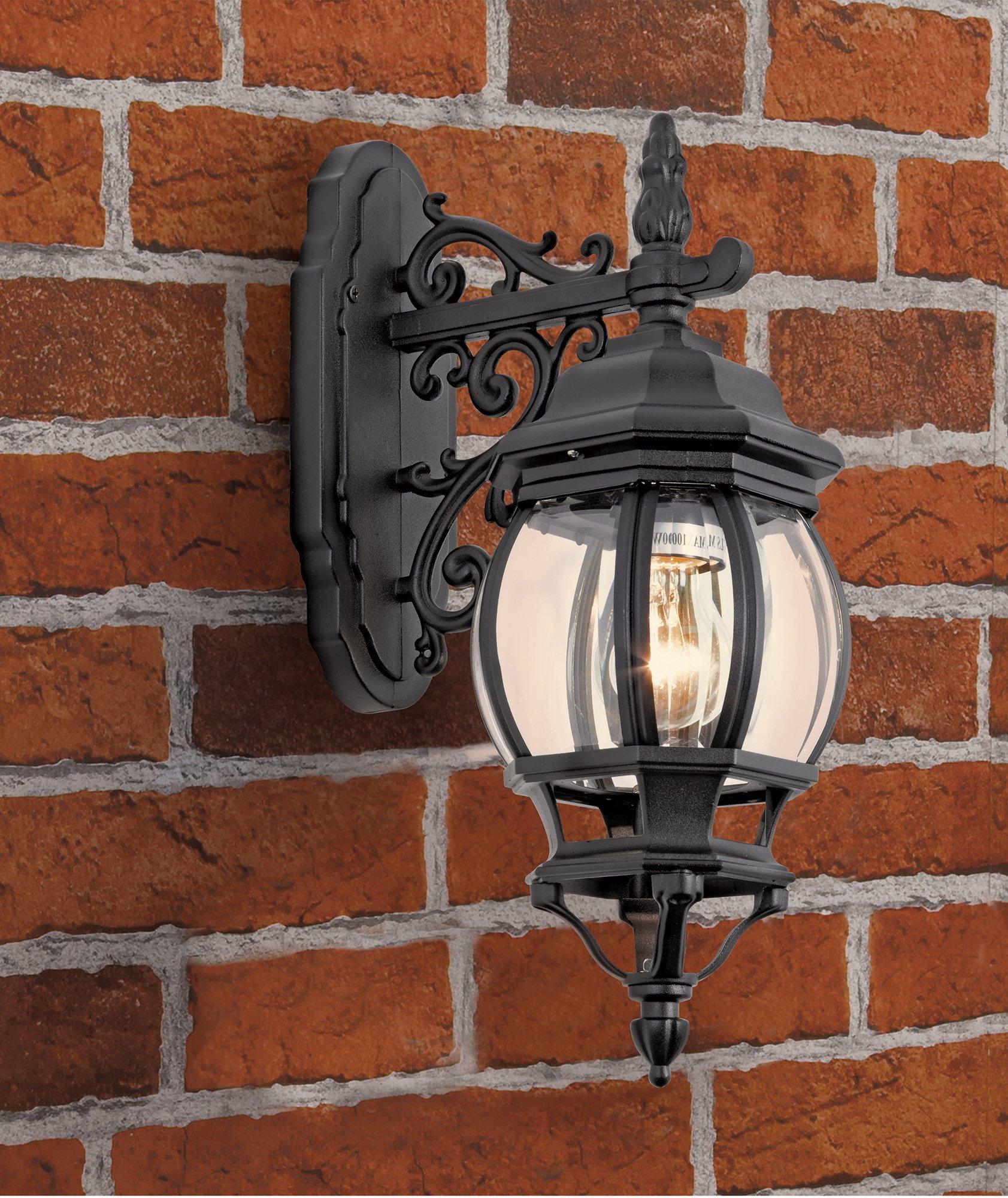 home-black-pumpkin-style-lantern