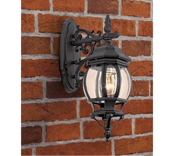 Buy home pumpkin style lantern black at argos your home pumpkin style lantern black mozeypictures Gallery