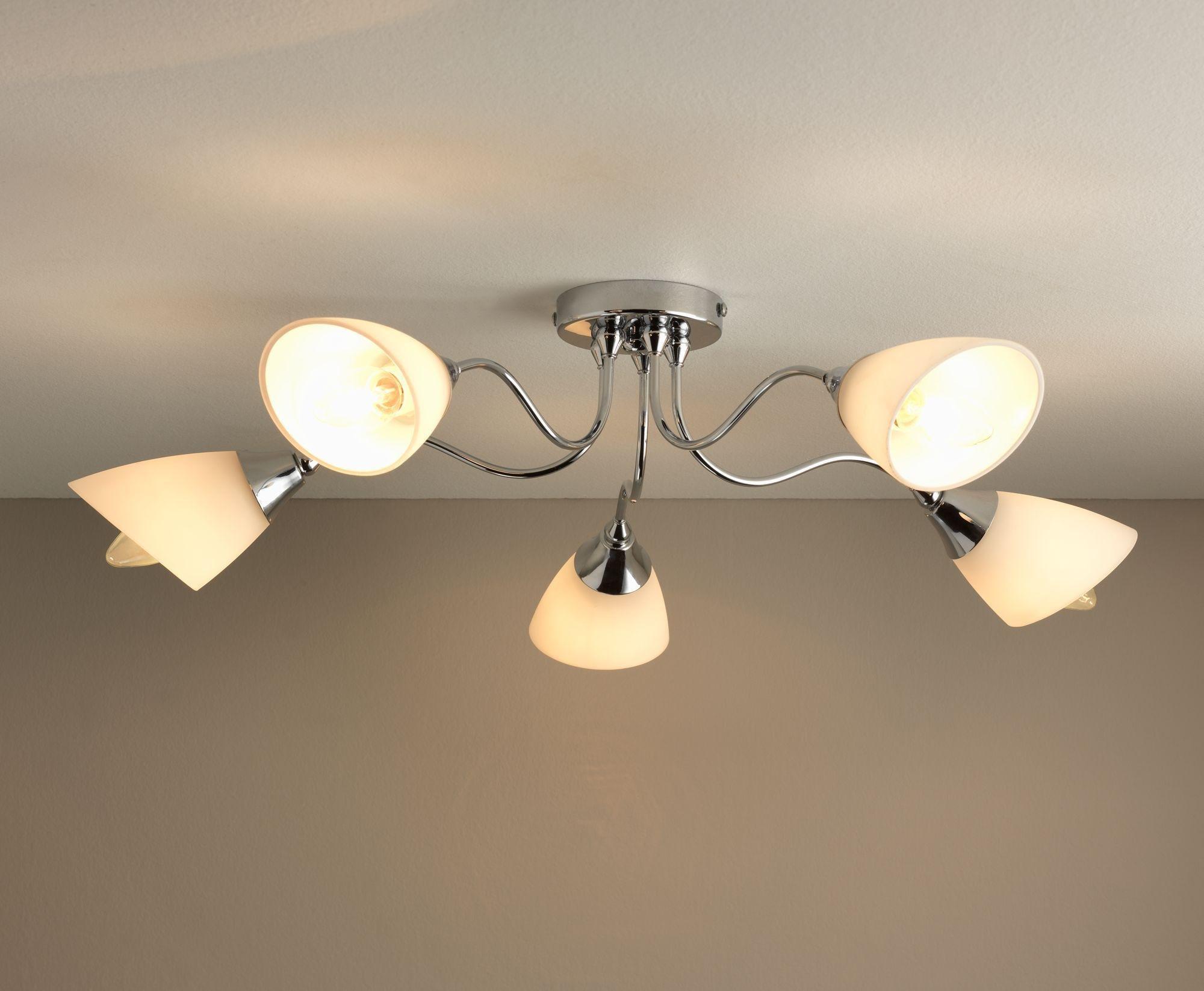 home cisco 5 light ceiling fitting review. Black Bedroom Furniture Sets. Home Design Ideas