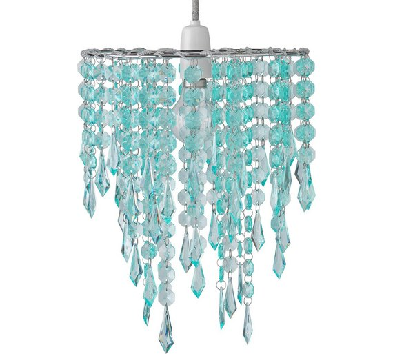 Argos Wall Lamp Shades : Buy HOME Beaded Light Shade - Duck Egg at Argos.co.uk - Your Online Shop for Lamp shades ...