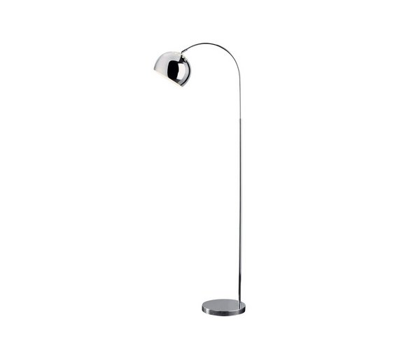 Buy HOME Curva Floor Lamp - Chrome | Floor lamps | Argos