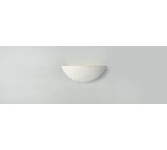 Buy argos home mars ceramic wall light white ceiling and wall argos home mars ceramic wall light white aloadofball Images