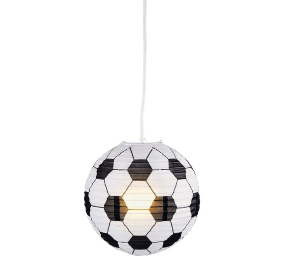 Buy home football paper light shade at argos your online home football paper light shade mozeypictures Images