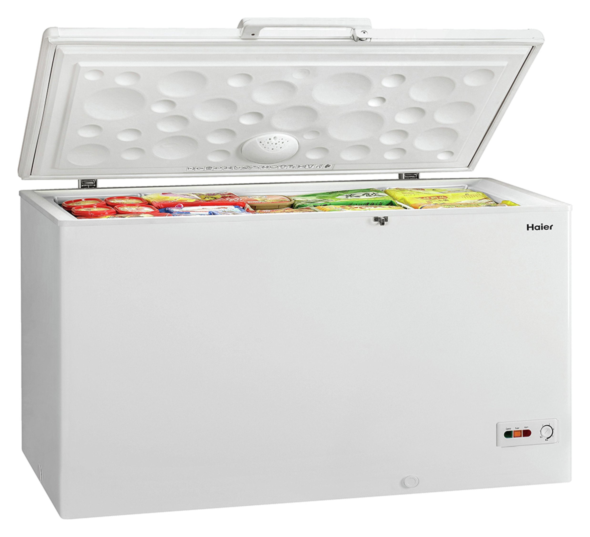 Image of Haier BD-429RAA Chest Freezer - White With Installation