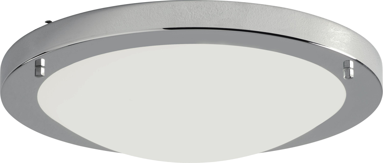 Image of Collection Energy Saving Bathrm Flush Ceiling Light - Chrome