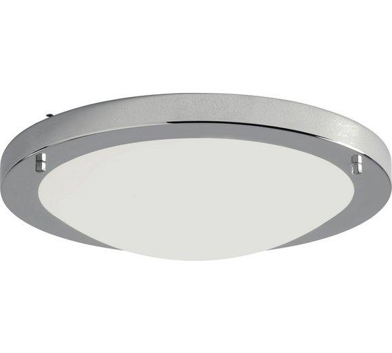 Collection Energy Saving Bathrm Flush Ceiling Light Chrome432 7198