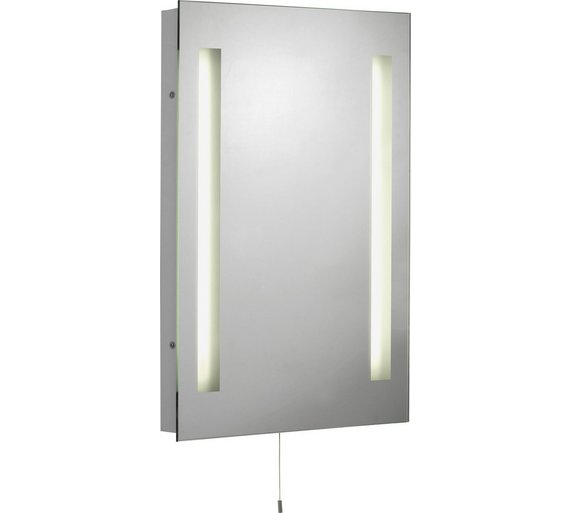 Buy Collection Rectangular Bathroom Mirror With Shaver Point At