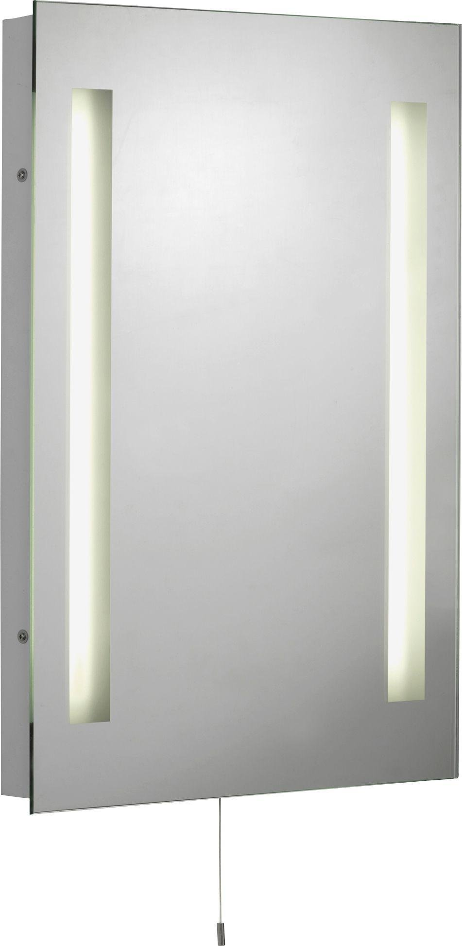 bathroom mirror with shaver point buy collection bathroom mirror with shaver point at argos 22243