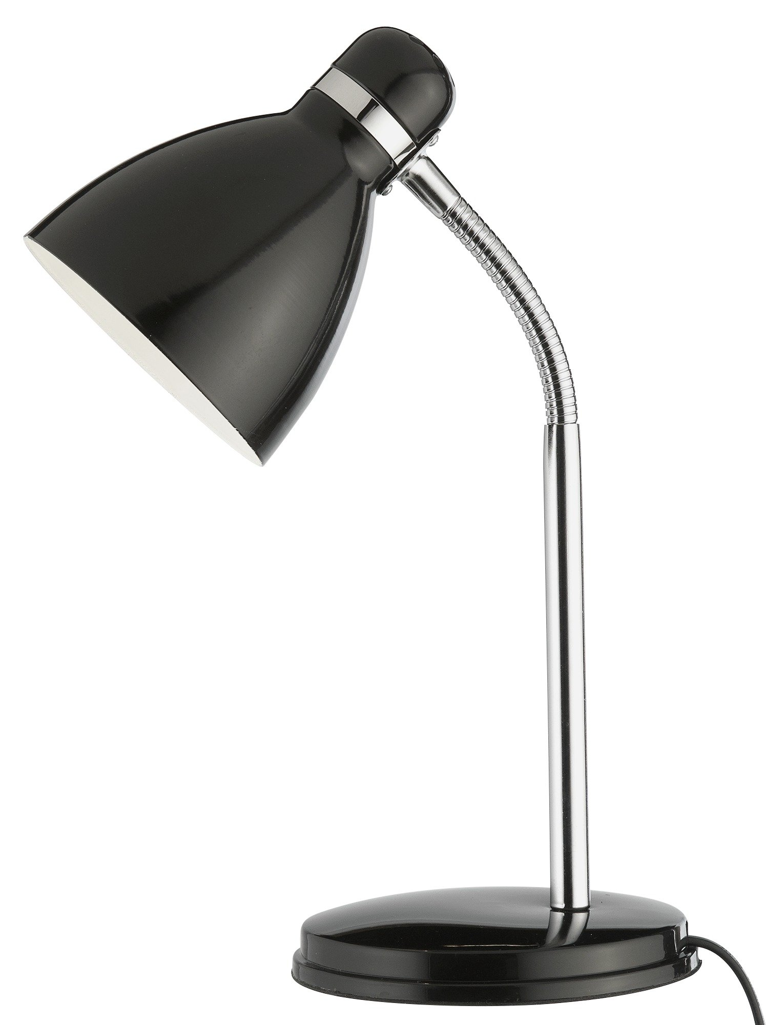 Argos Home Desk Lamp - Jet Black