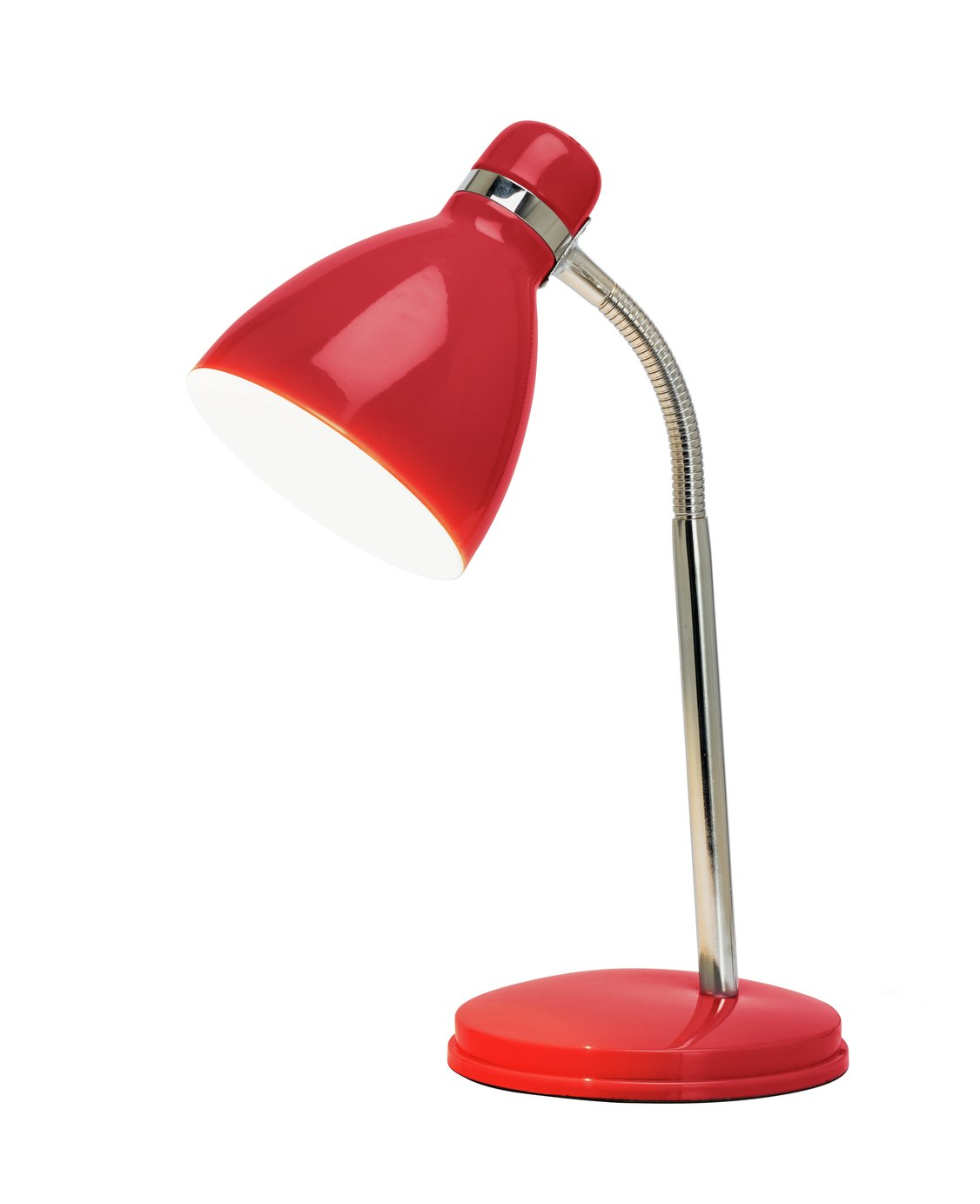 Argos Home Desk Lamp - Poppy Red