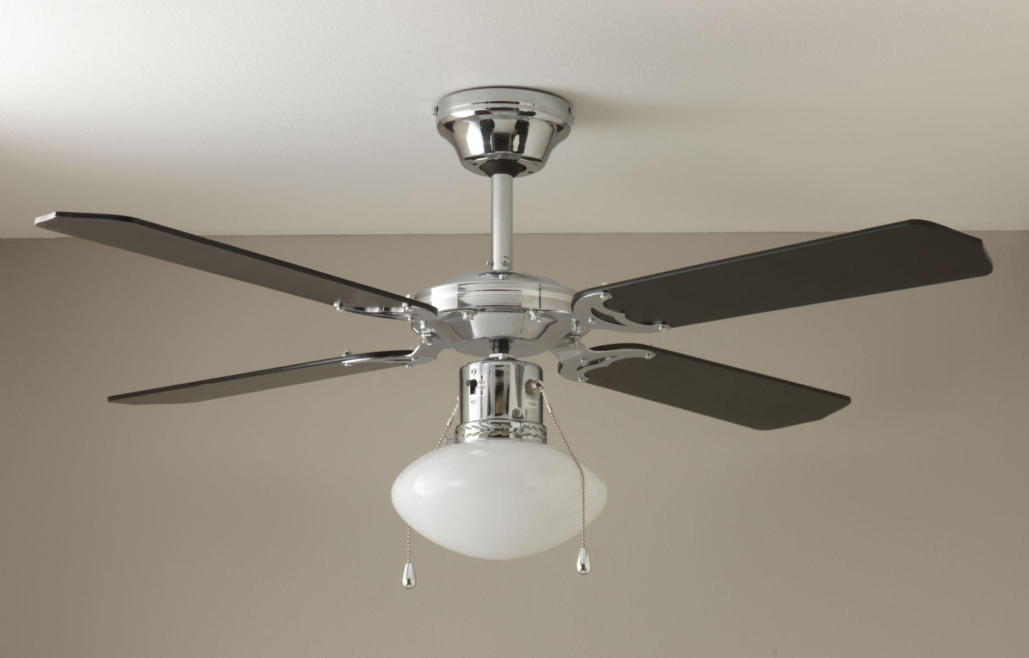 home-ceiling-fan-black-chrome