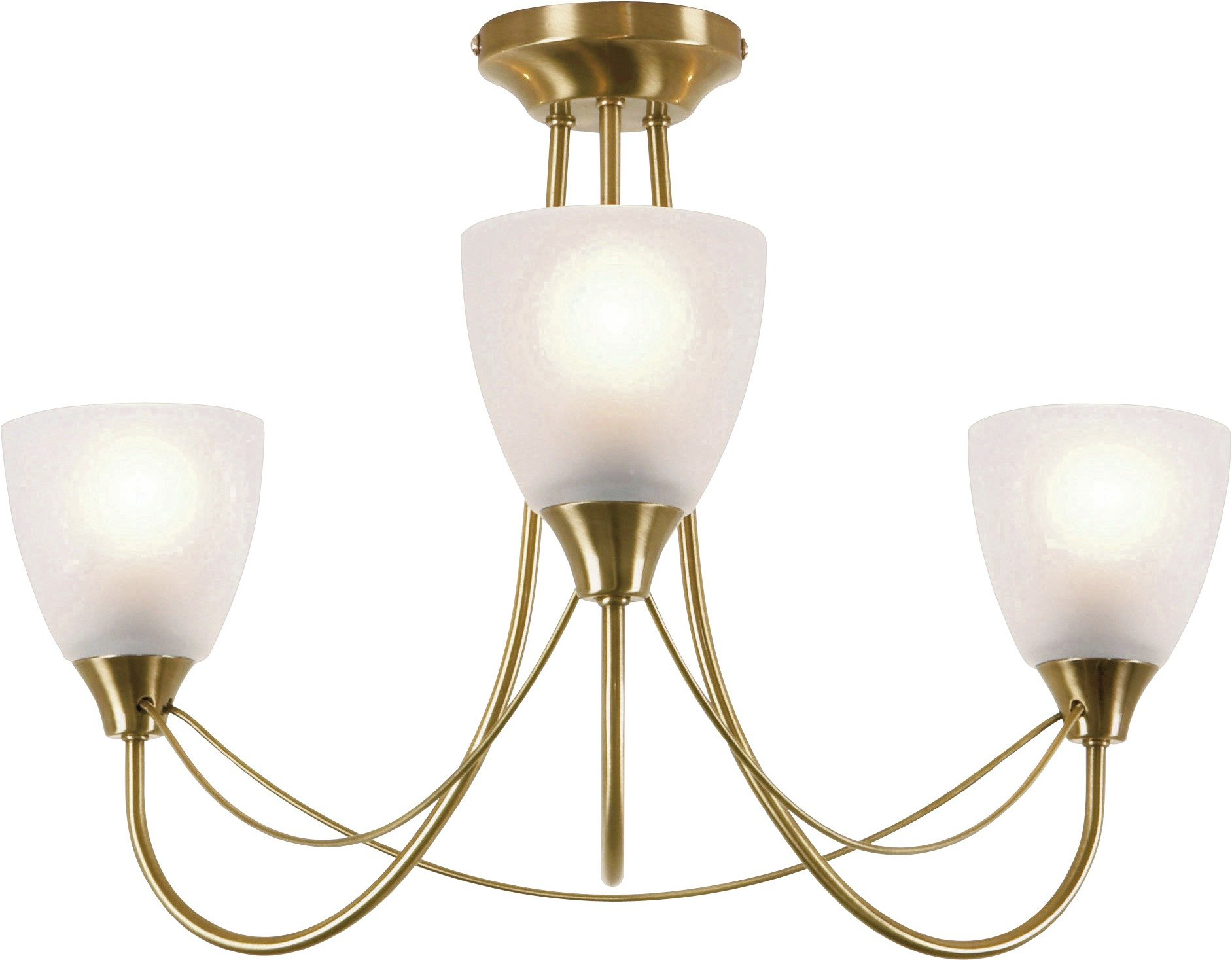 Traditional Bathroom Barclay Flush Fitting Glass Ceiling: Linea Verdace Trio Antique Brass 230 Volt Ceiling Spotlight