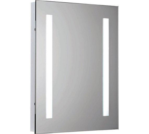 Buy Argos Home Rec Illuminated Bathroom Mirror With Shaver Point