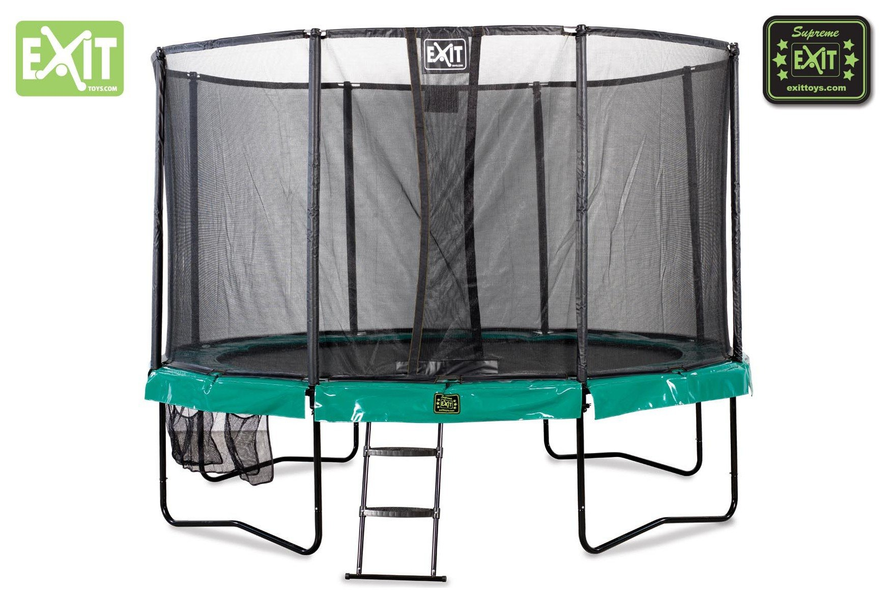 EXIT EXIT Supreme 12FT Trampoline - Dark Green