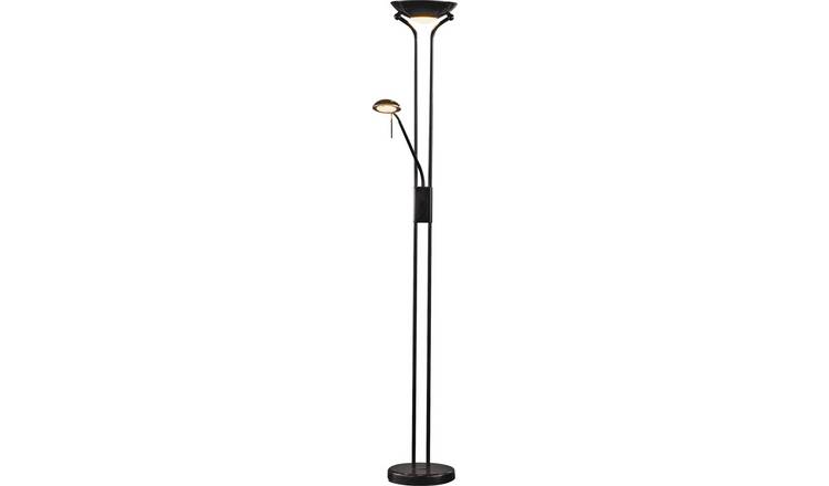 Argos Home Father & Child Uplighter Floor Lamp - Black