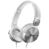 Philips - SHL3160 DJ Style On-Ear Headphones - White