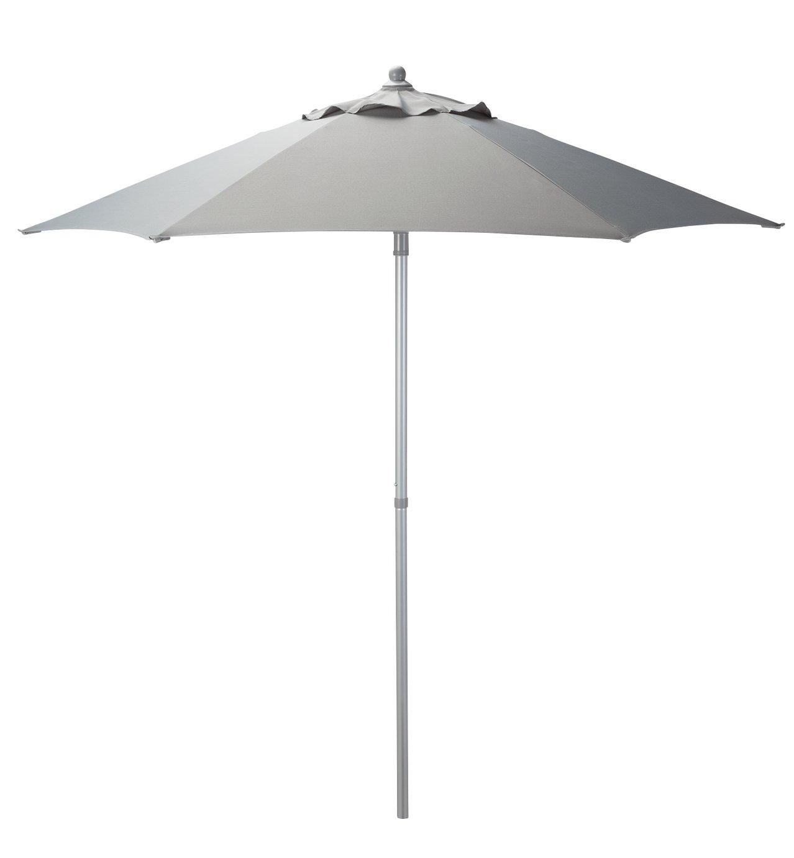 Argos Home 2m Garden Parasol - Grey