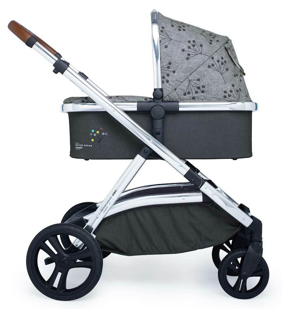Cosatto WOW XL Pram and Pushchair - Hedgerow