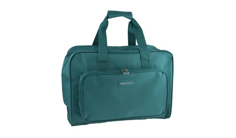 Sewing Machine Carry Bag - Grey/Teal