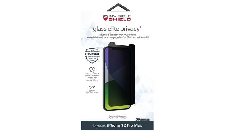 Zagg InvisibleShield Glass iPhone 12 6.7 Inch Protector