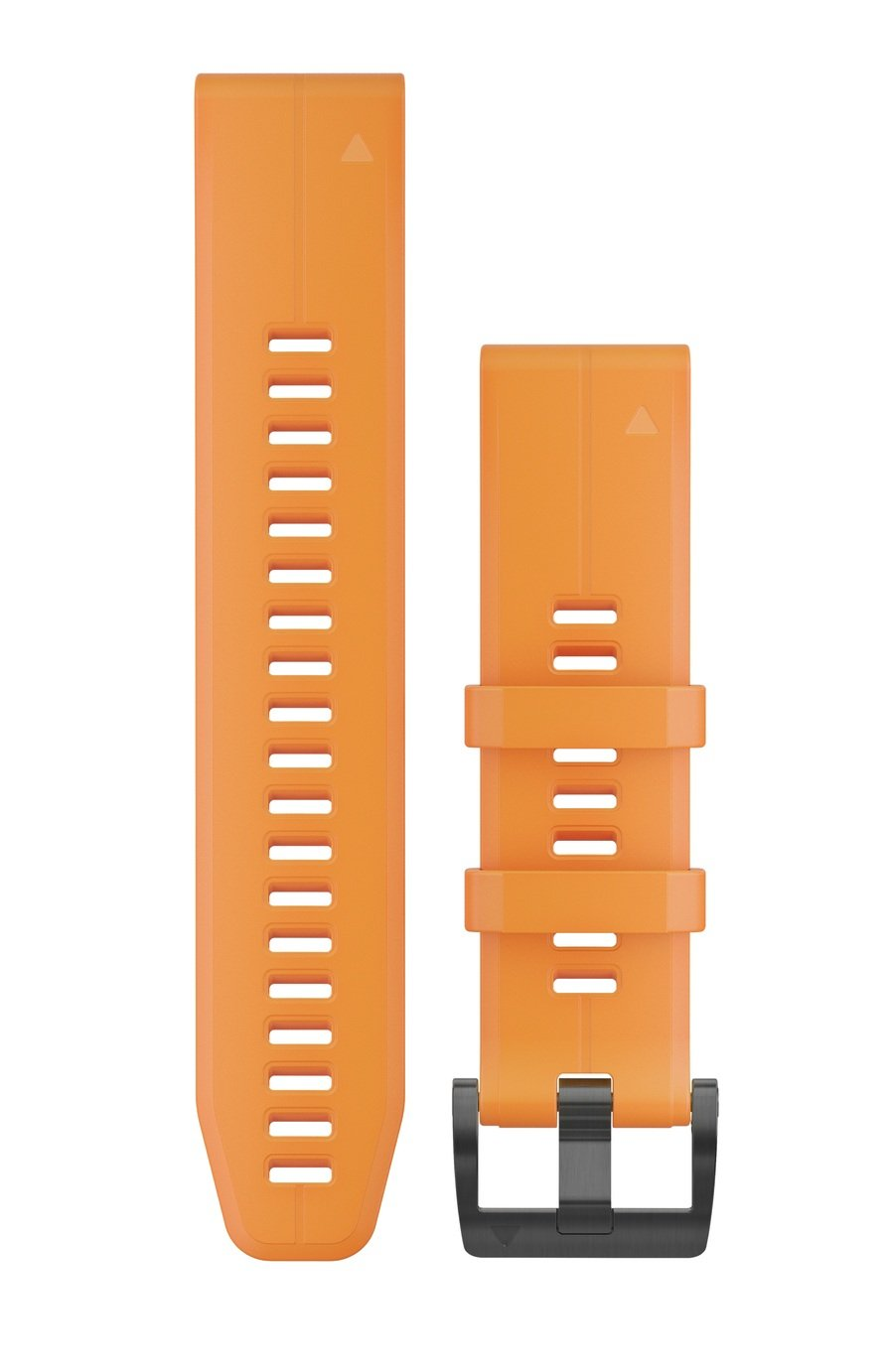Garmin Quickfit 22mm Silicone Watch Band - Orange