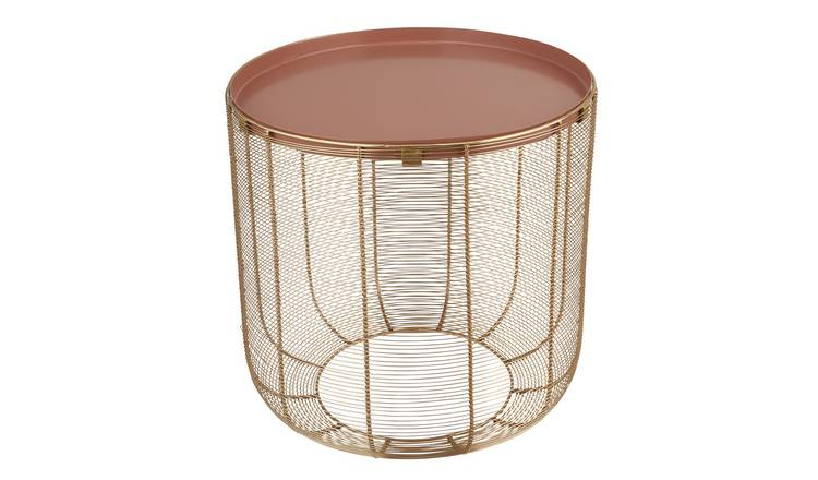 Argos Home Wilderness Metal Mesh Table