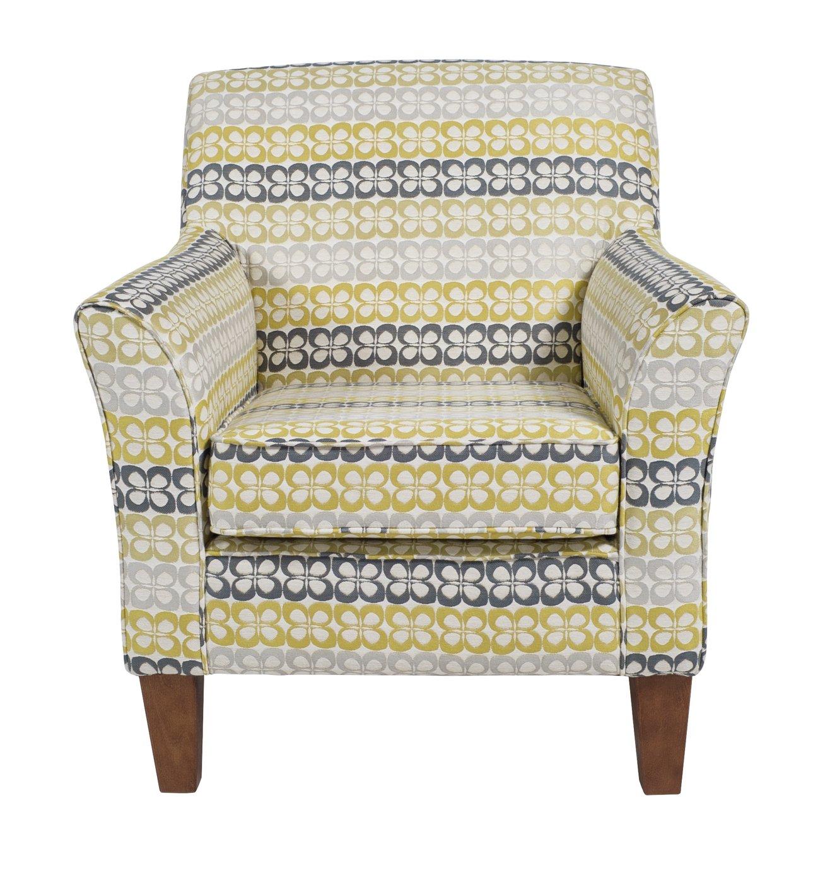 Argos Home Aspen Holly Fabric Accent Chair