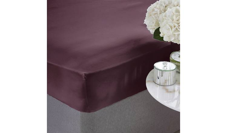 Silentnight Supersoft 28cm Fitted Sheet - Double