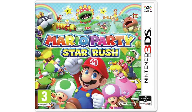 Mario Party: Star Rush Nintendo 3DS Game