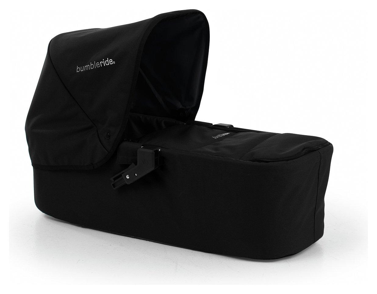 Image of Bumbleride Indie Carrycot - Jet Black.