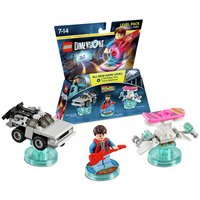 LEGO Dimensions: Back to the Future Level.