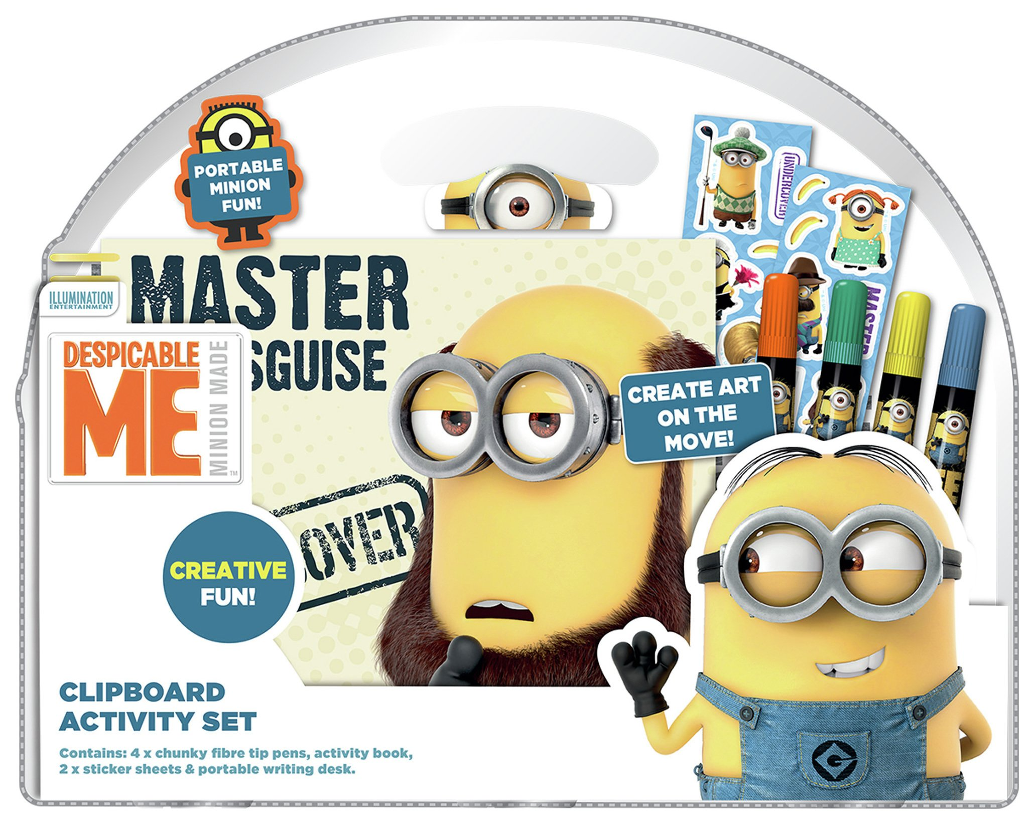 Image of Despicable Me - Clipboard Activity Set