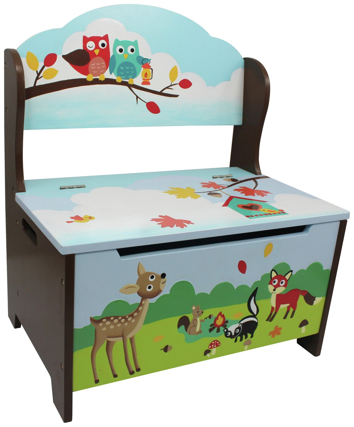Image of Fantasy Fields - Enchanted Woodland Storage Bench