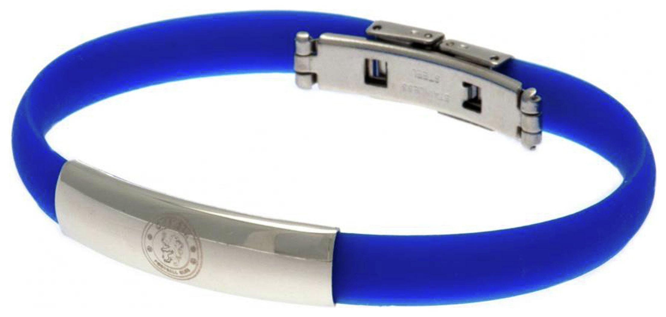 Stainless Steel and Rubber Chelsea Bracelet.