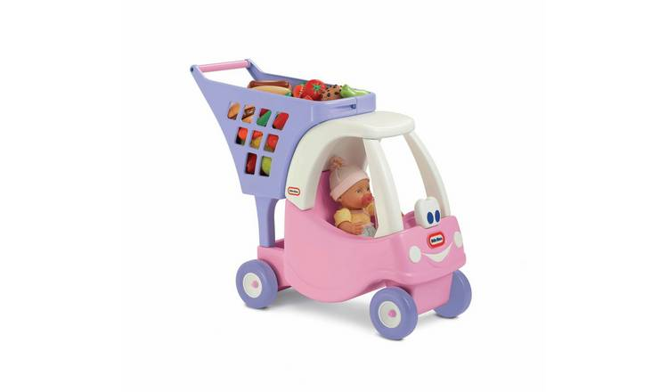 Little Tikes Princess Cozy Coupe Shopping Cart Ride On