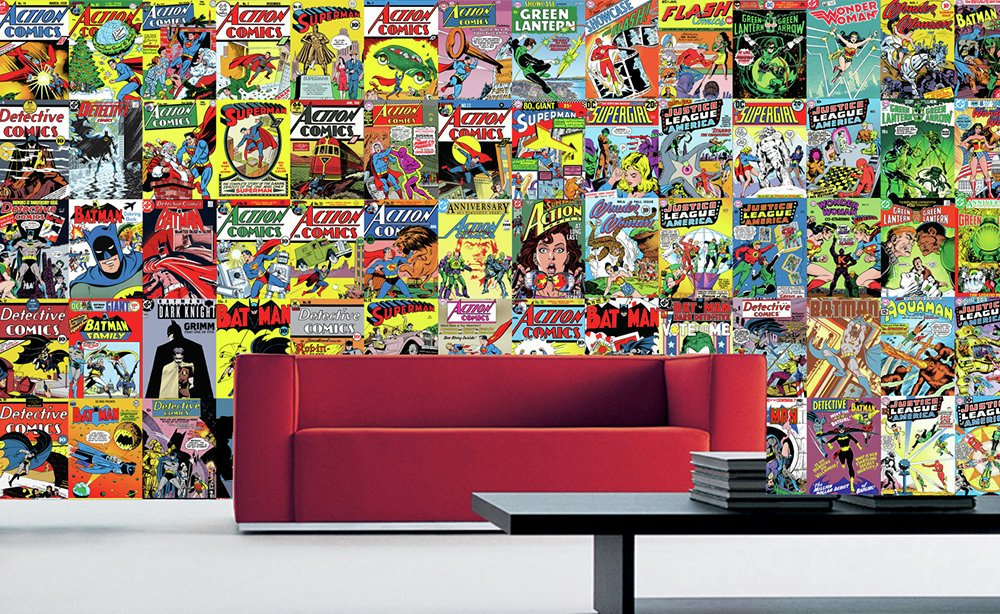 1Wall - DC Comics Creative Collage