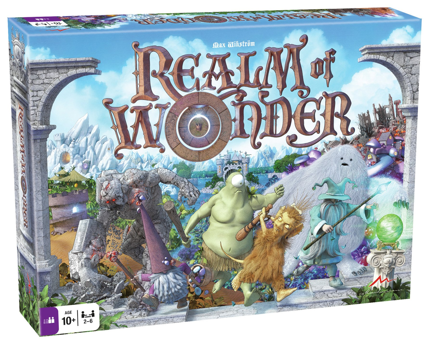 Image of Tactic Games - - Realm of Wonder B Game.