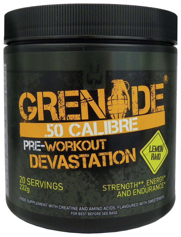 Image of Grenade - 50 Calibre 232g Sports Drink - Lemon Raid