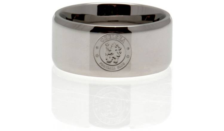 Stainless Steel Chelsea Ring - Size X.