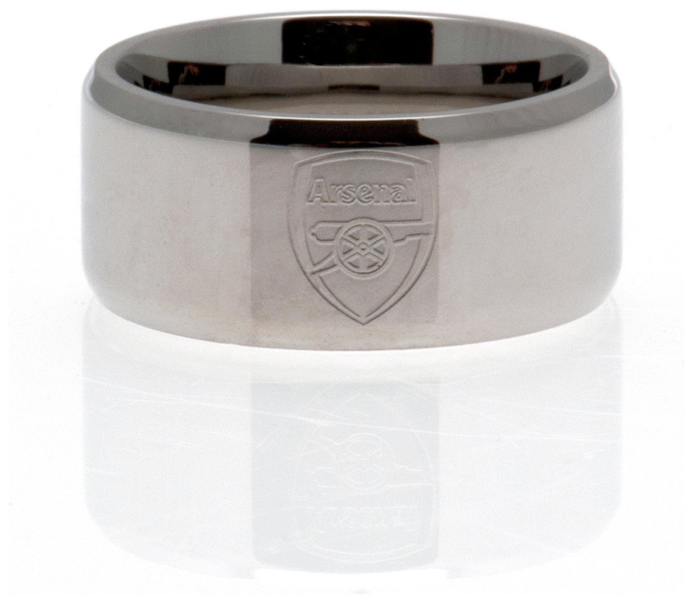 Image of Stainless Steel Arsenal Ring - Size R